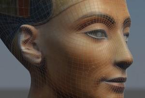 Nefertiti Bust Perspective