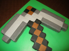 pick axe from Minecraft